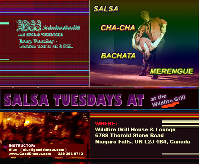 Salsa/Rueda Group Lesson